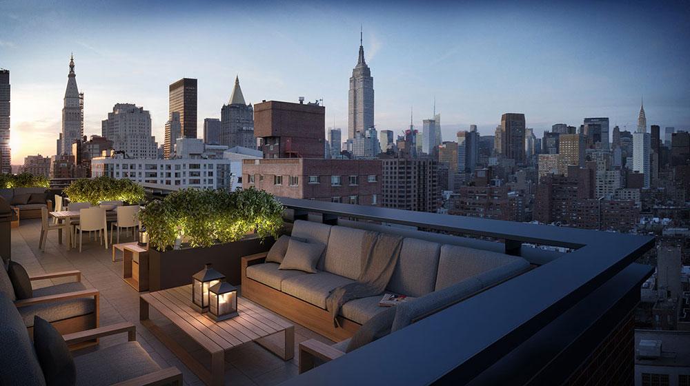 Takterrass-design-idéer-för-chill-dagar-och-nätter-7 takterrass design-idéer för chill-dagar och nätter