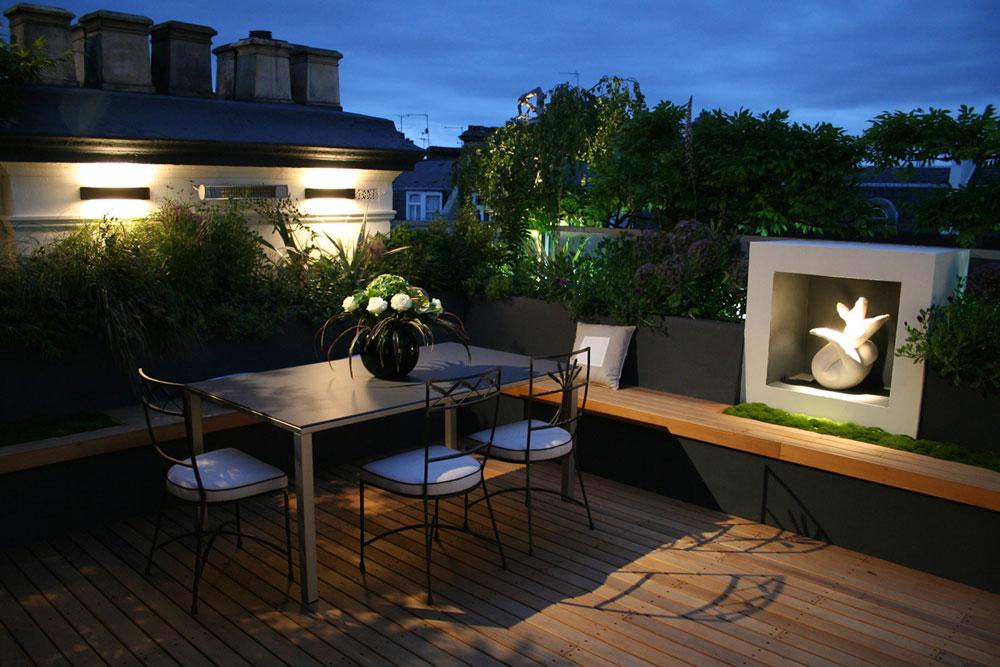 Designtips på takterrassen för kyla dagar och nätter 9 takterrasse designidéer för kalla dagar och nätter