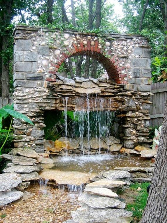 w3 Bakgårdsdammar och idéer för vattenträdgård - 31 exempel