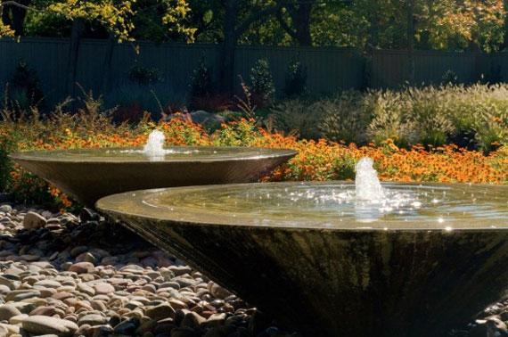 w25 Bakgårdsdammar och idéer för vattenträdgård - 31 exempel
