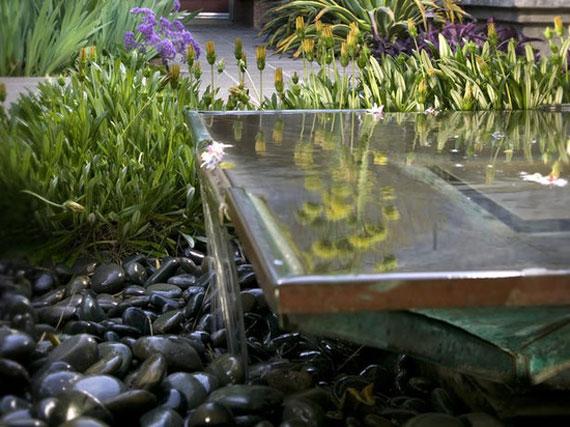 w5 bakgårdsdammar och idéer för vattenträdgård - 31 exempel