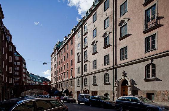 swe23 Lyxig takvåning i svensk stil i Östermalm, Stockholm