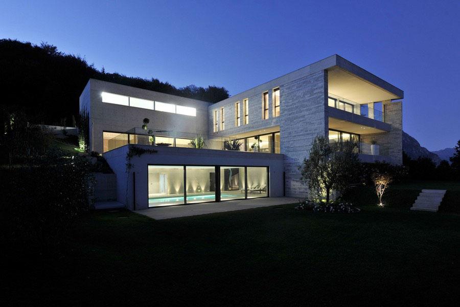 Ett unikt exempel på modern arkitektur nära sjön Lugano-9 Ett unikt exempel på modern arkitektur nära sjön Lugano