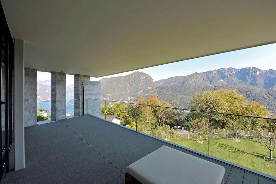Ett unikt exempel på modern arkitektur nära sjön Lugano-11 Ett unikt exempel på modern arkitektur nära sjön Lugano