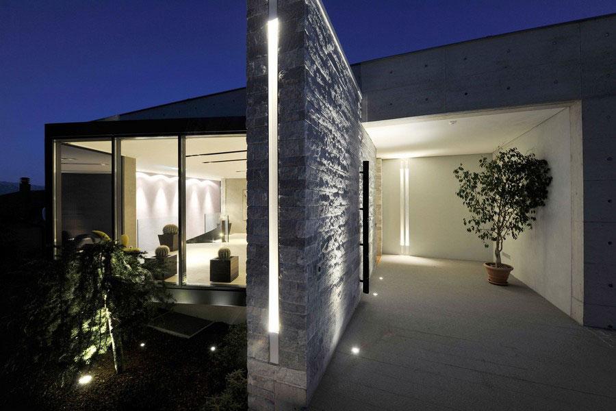 Ett unikt exempel på modern arkitektur nära Lugano-sjön 21 Ett unikt exempel på modern arkitektur nära Lugano-sjön