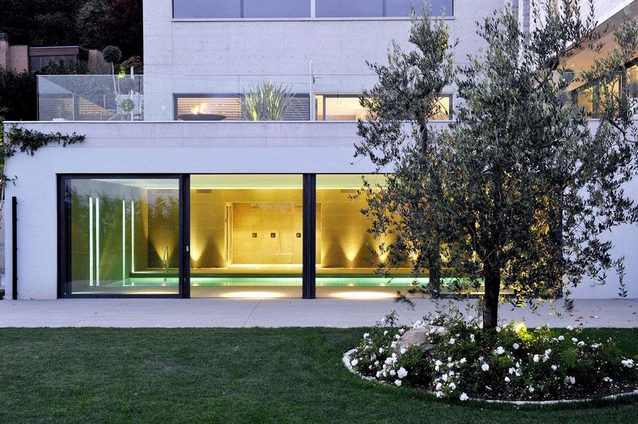 Ett unikt exempel på modern arkitektur nära sjön Lugano-7 Ett unikt exempel på modern arkitektur nära sjön Lugano