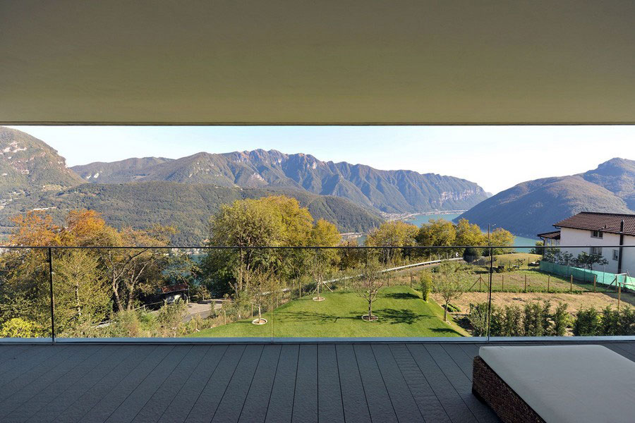 Ett unikt exempel på modern arkitektur nära sjön Lugano-10 Ett unikt exempel på modern arkitektur nära sjön Lugano