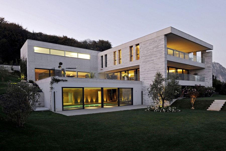 Ett unikt exempel på modern arkitektur nära sjön Lugano-8 Ett unikt exempel på modern arkitektur nära sjön Lugano