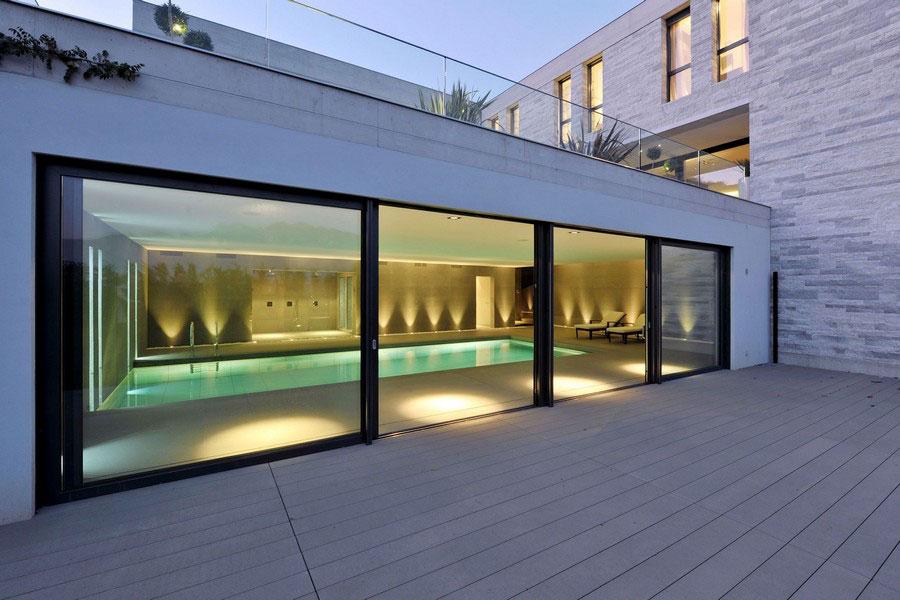Ett unikt exempel på modern arkitektur nära sjön Lugano-6 Ett unikt exempel på modern arkitektur nära sjön Lugano
