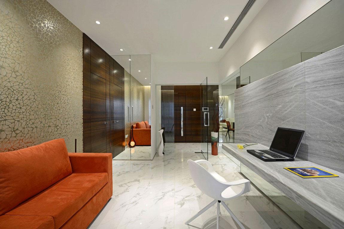 Modern bostad som har ett riktigt iögonfallande utseende och känsla 7 Modern bostad som har ett riktigt iögonfallande utseende