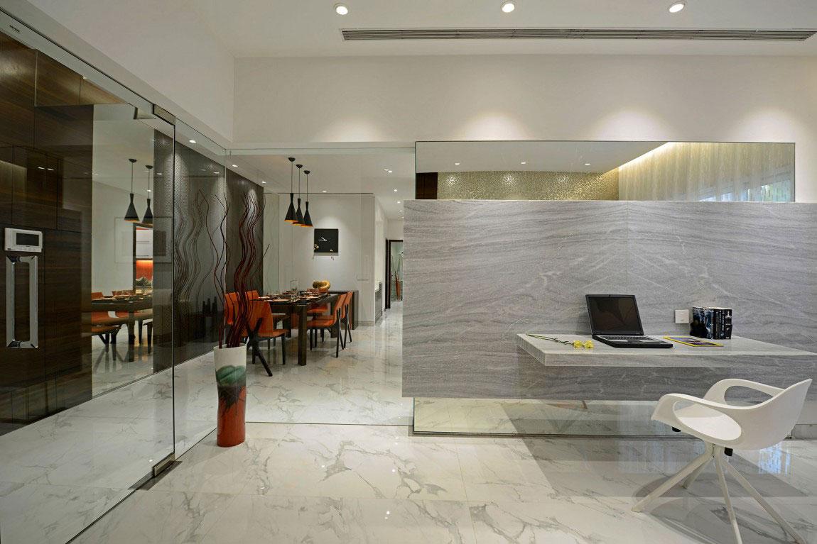 Modern bostad som har ett riktigt iögonfallande utseende och känsla 6 Modern bostad som har ett riktigt iögonfallande utseende