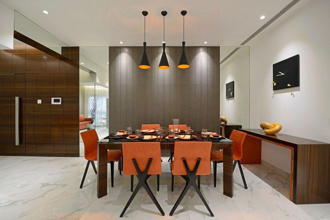 Modern bostad som har ett riktigt iögonfallande utseende och känsla 11 Modern bostad som har ett riktigt iögonfallande utseende