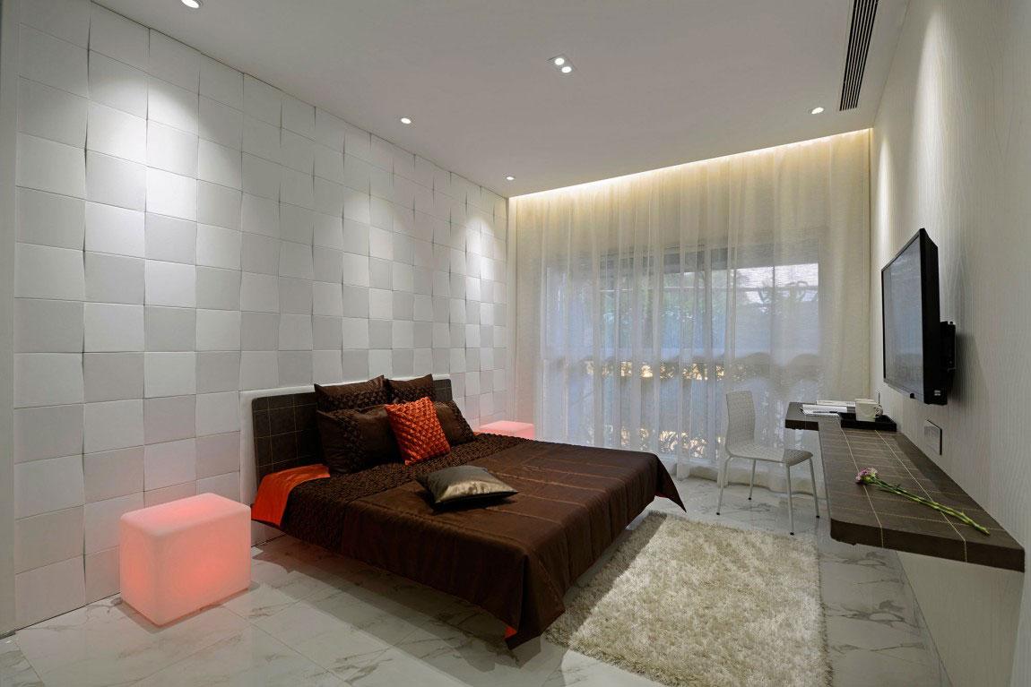 Modern bostad som har ett riktigt iögonfallande utseende och känsla 13 Modern bostad som har ett riktigt iögonfallande utseende