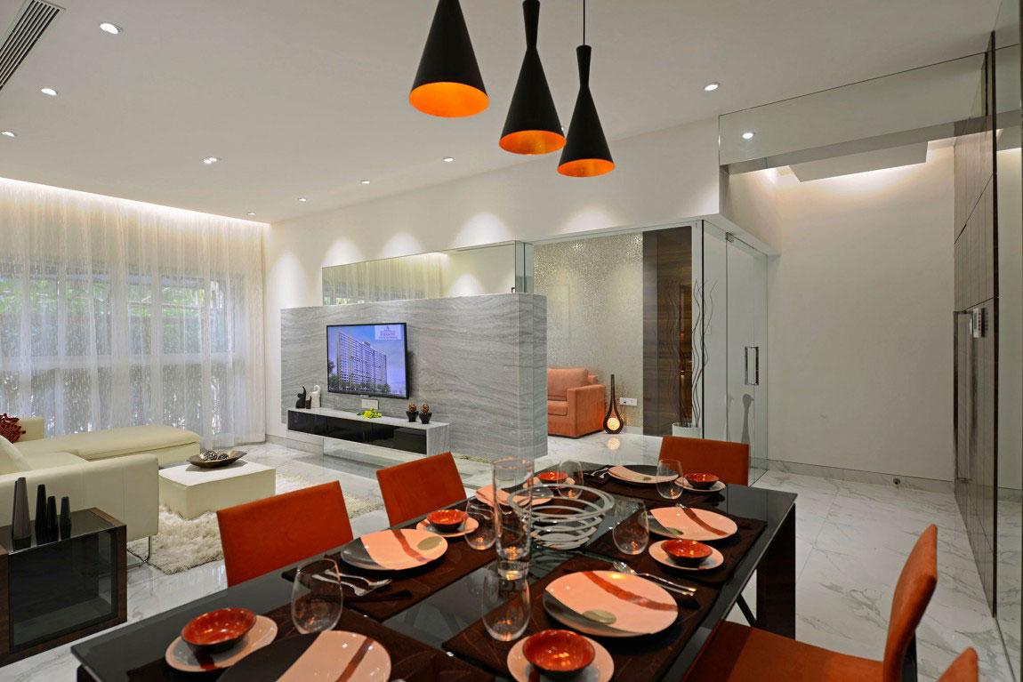 Modern bostad som har ett riktigt iögonfallande utseende och känsla 12 Modern bostad som har ett riktigt iögonfallande utseende