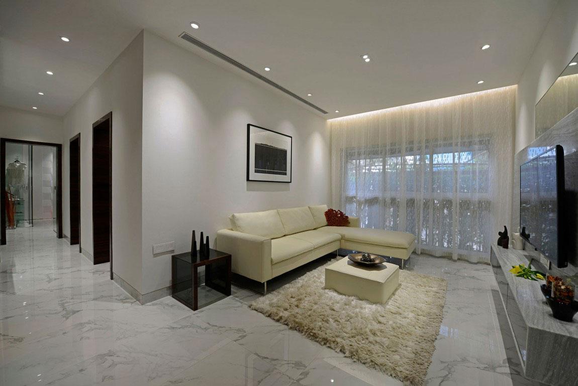 Modern bostad som har ett riktigt iögonfallande utseende och känsla 2 Modern bostad som har ett riktigt iögonfallande utseende
