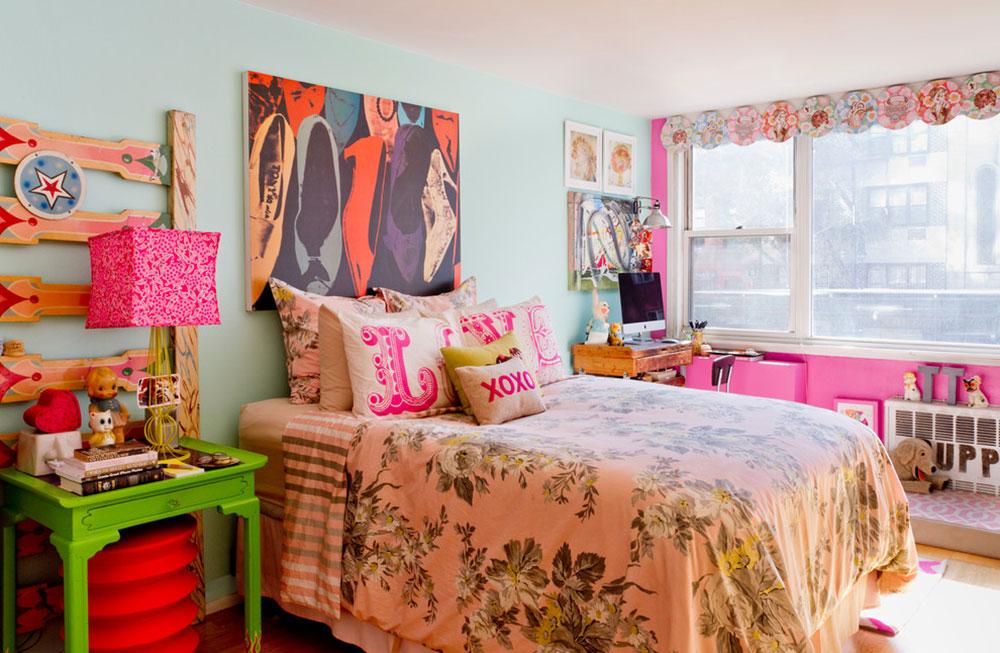 Sovrum-Pretty-in-Pink-by-Apartmentjeanie Vintage sovrumsidéer som du inte bör förbise