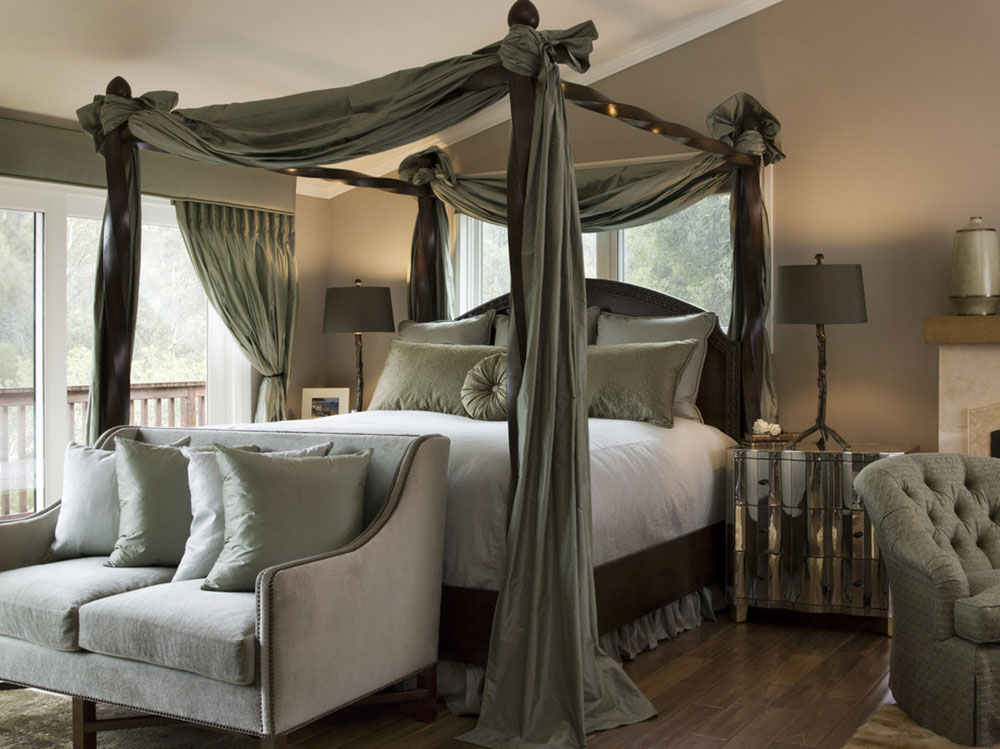 Hillsborough-Transitional-by-Diedre-Shaw-Interiors Vintage Bedroom Idéer som du inte borde se över