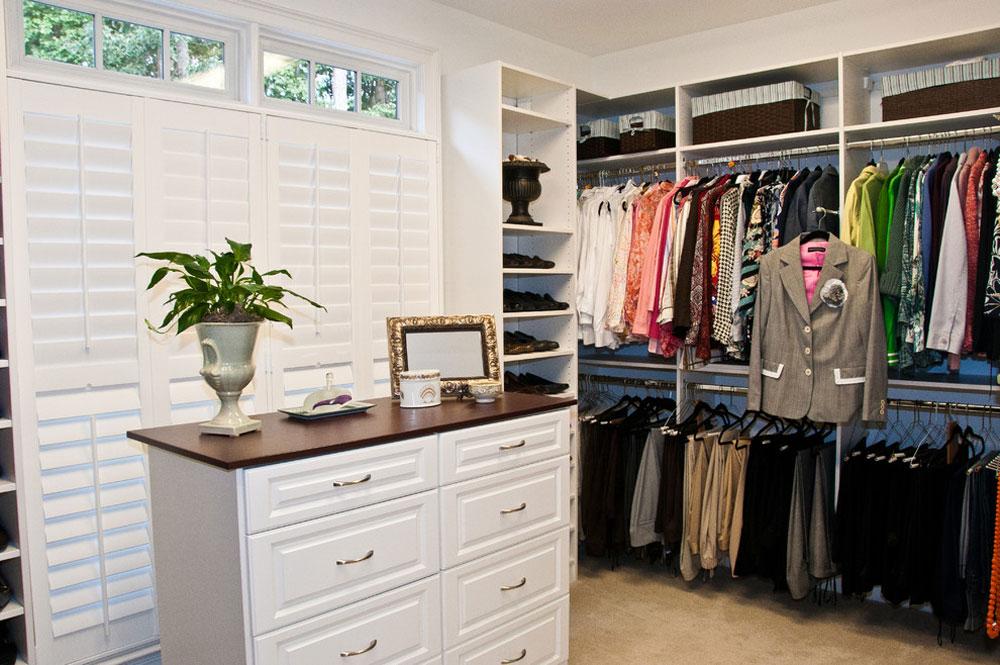 Custom-Closets-by-Louisiana-Custom-Closets Clothes Rack Idéer att prova (hängande, fristående, trä, metall)