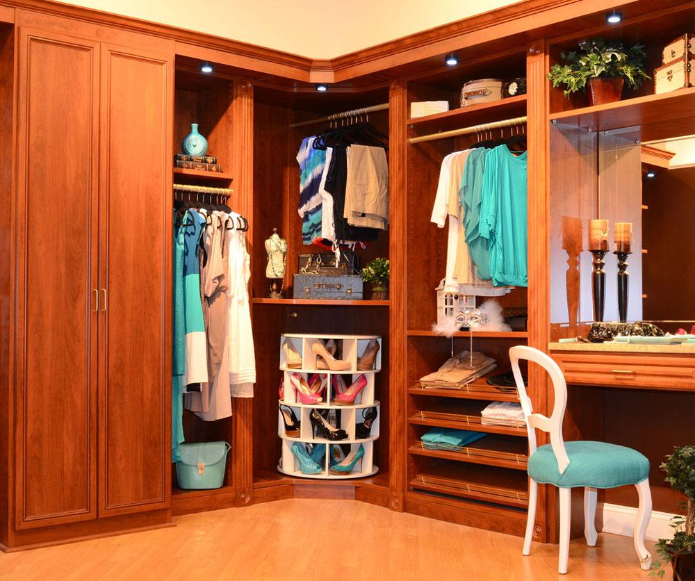 Traditional-Closet-by-Susan-Shoerack torkställning idéer att prova (hängande, fristående, trä, metall)