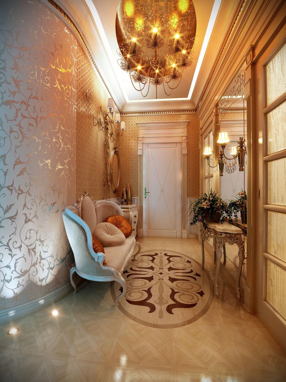 Värm din dag med dessa hall-dekorationsidéer-4 Värm din dag med dessa hall-dekorationsidéer