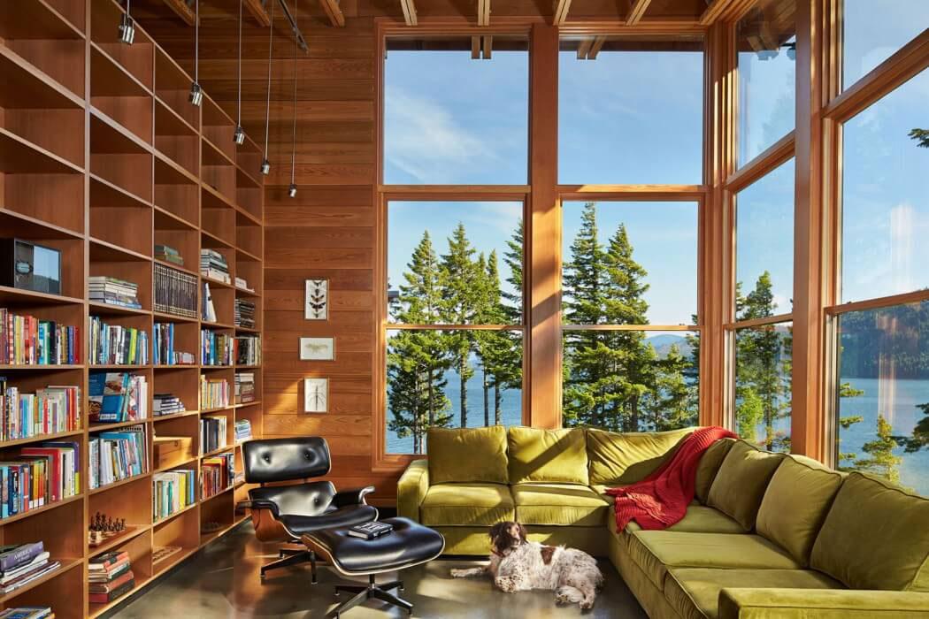 Modern-Mountain-Home-Designad av Johnston-Architects-5 Modernes Mountain Home Designad av Johnston Architects