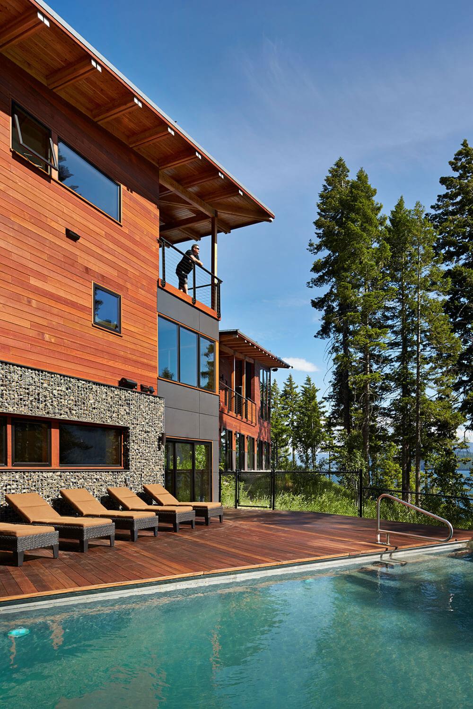 Modernt fjällhus designat av Johnston Architects-2 Modernt fjällhus designat av Johnston Architects