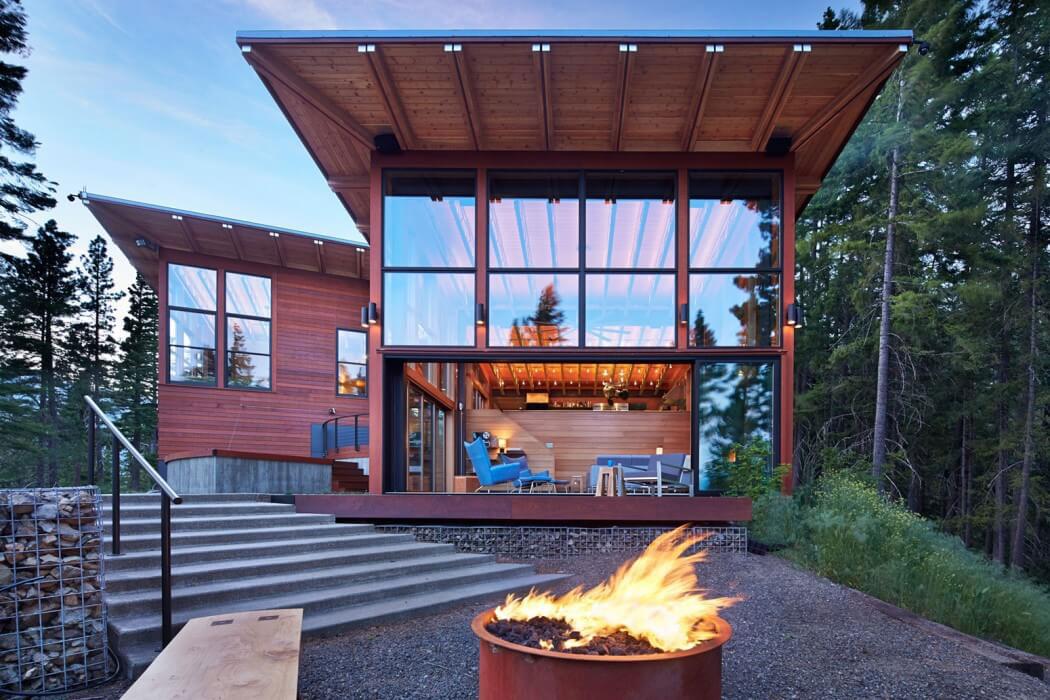 Modernt bergshem designat av Johnston Architects 14 Modernt fjällhus designat av Johnston Architects
