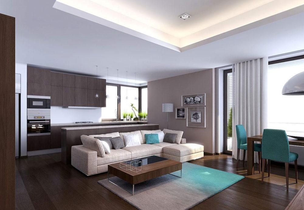 Undvik folkmassorna med en minimalistisk stil. 12 Undvik trånga interiörer med en minimalistisk stil