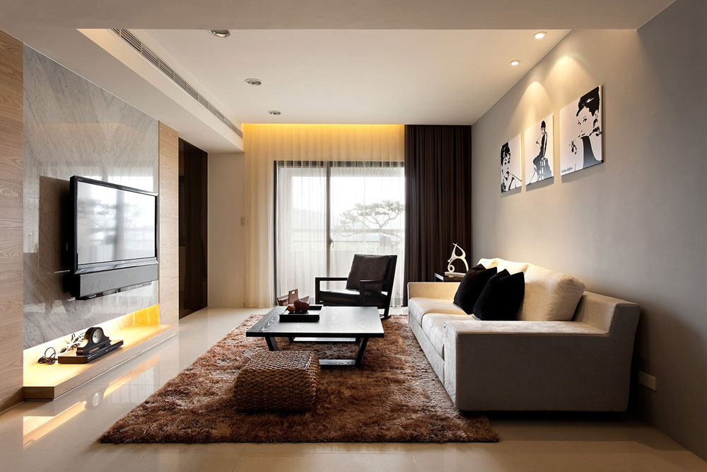 Undvik folkmassorna med en minimalistisk stil 13 Undvik trånga interiörer med en minimalistisk stil