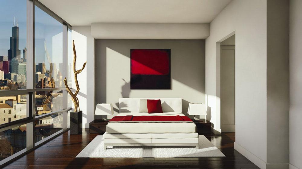 Undvik folkmassorna med en minimalistisk stil 15 Undvik trånga interiörer med en minimalistisk stil