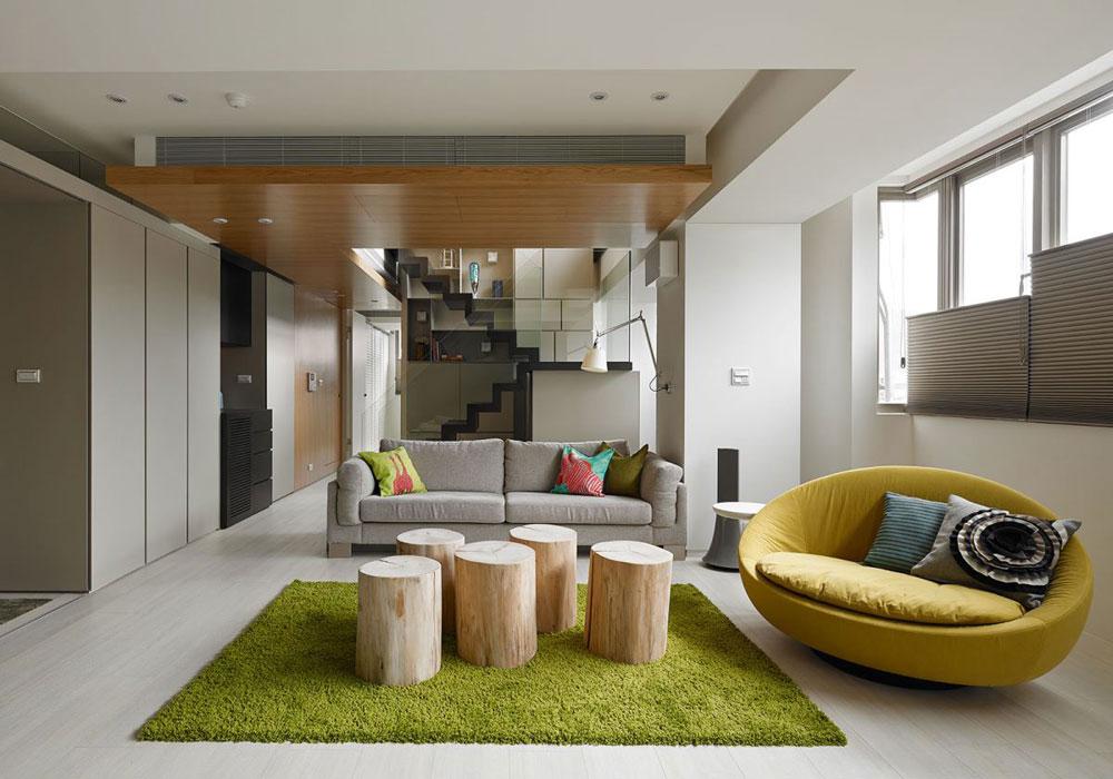 Undvik folkmassorna med en minimalistisk stil 6 Undvik trånga interiörer med en minimalistisk stil