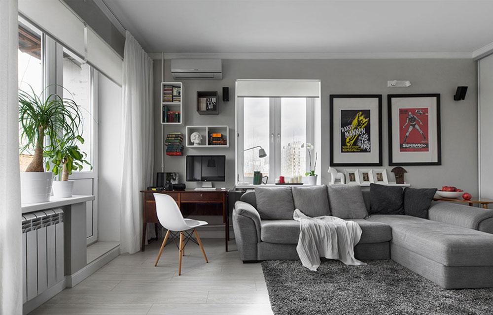 Undvik folkmassorna med en minimalistisk stil. 8 Undvik trånga interiörer med en minimalistisk stil