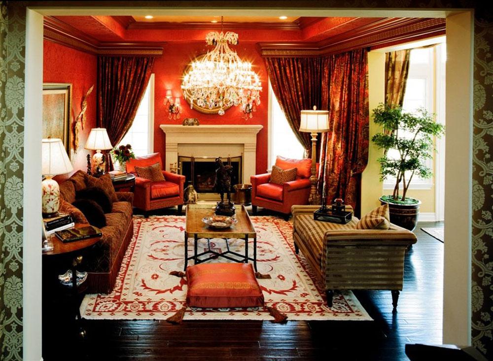 Orange-Interior-Design-Idéer-för-varje-säsong7 Orange Interior Design-Idéer för varje säsong