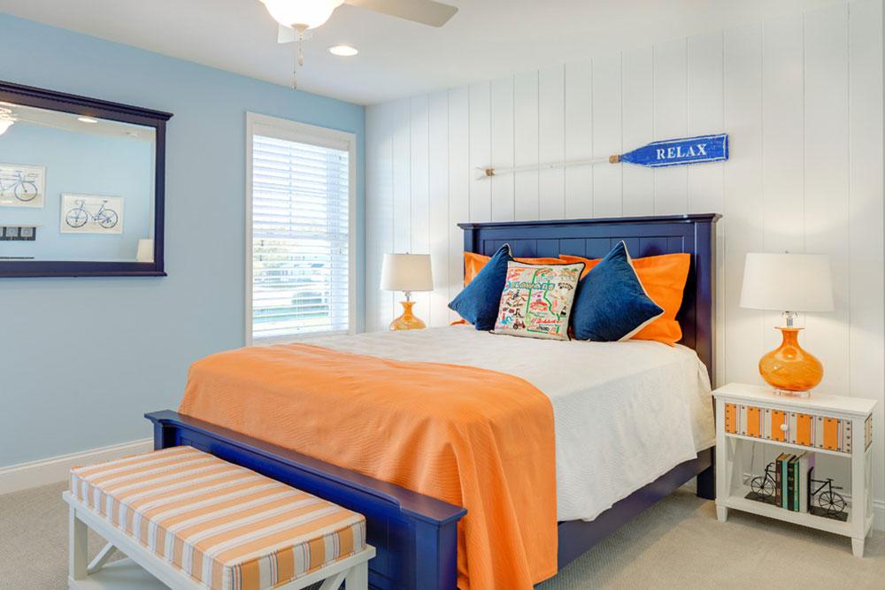 Orange-Interior-Design-Idéer-för-varje-säsong10 Orange Interior Design-Idéer för varje säsong