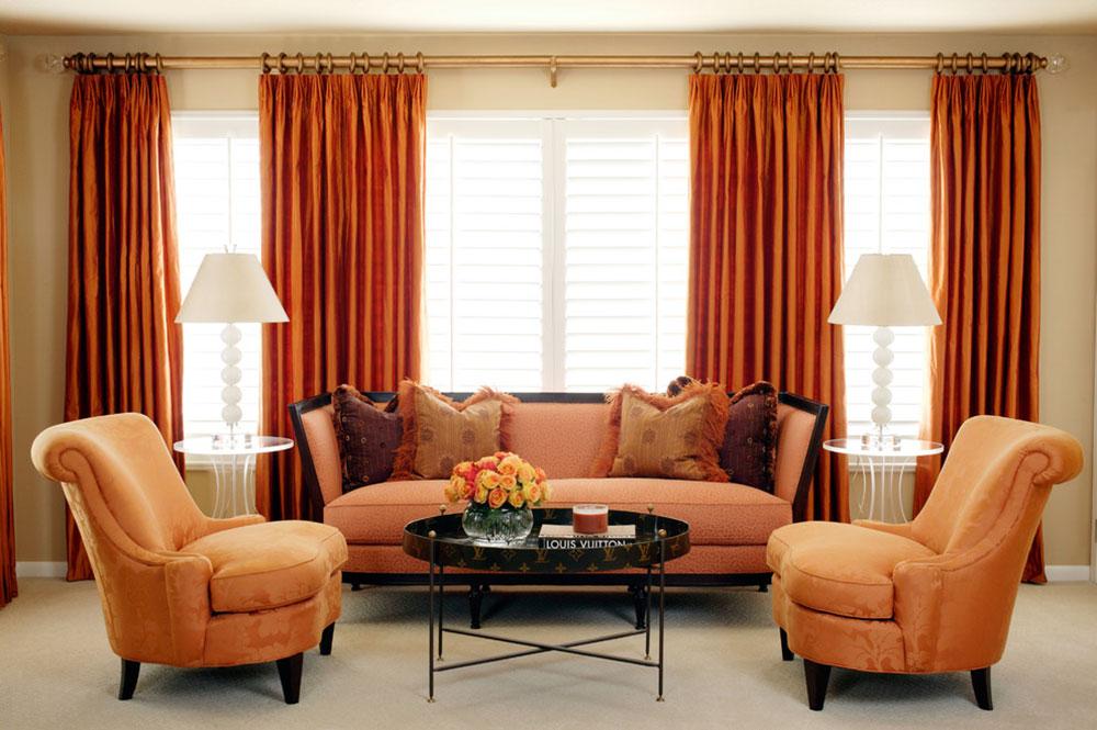 Orange-Interior-Design-Idéer-för-varje-säsong3 Orange-Interior-Design-Idéer för varje säsong