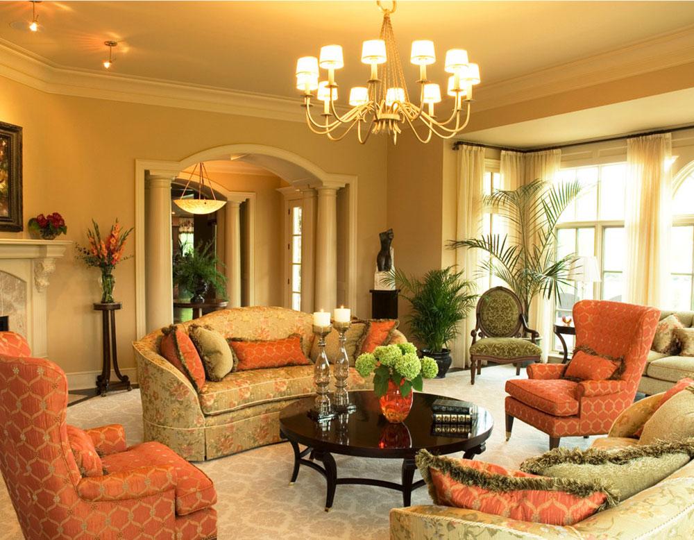 Orange-Interior-Design-Idéer-för-varje-säsong6 Orange Interior Design-Idéer för varje säsong