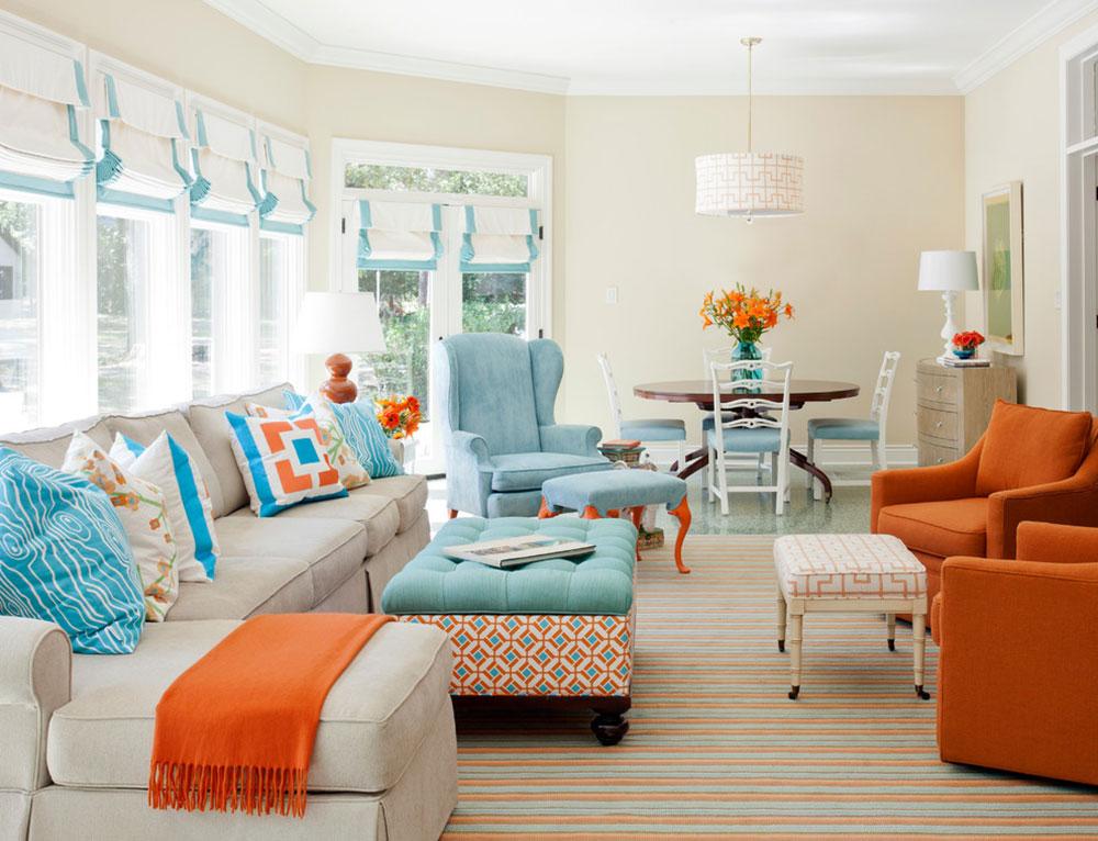 Orange-Interior-Design-Idéer-för-varje-säsong4 Orange-Interior-Design-Idéer för varje säsong