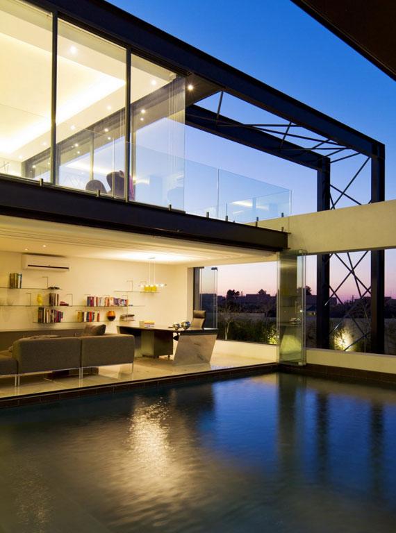 b17 Modern byggnad Ber House designad av Nico van der Meulen Architects