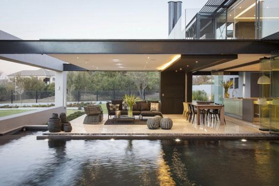 b3 Modern byggnad Ber House designad av Nico van der Meulen arkitekter
