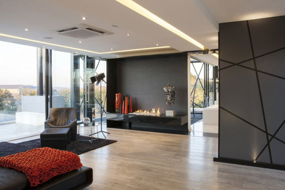 b16 Modern byggnad Ber House designad av Nico van der Meulen arkitekter