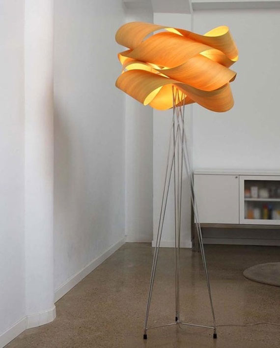 q28 Moderna och vintage golvlampedesigner för att dekorera och lysa upp dina rum