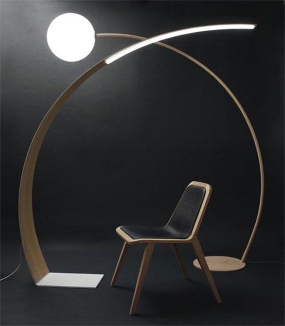 q34 Moderna och vintage golvlampedesigner för att dekorera och lysa upp dina rum