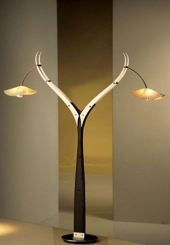 q32 Moderna och vintage golvlampedesigner för att dekorera och lysa upp dina rum