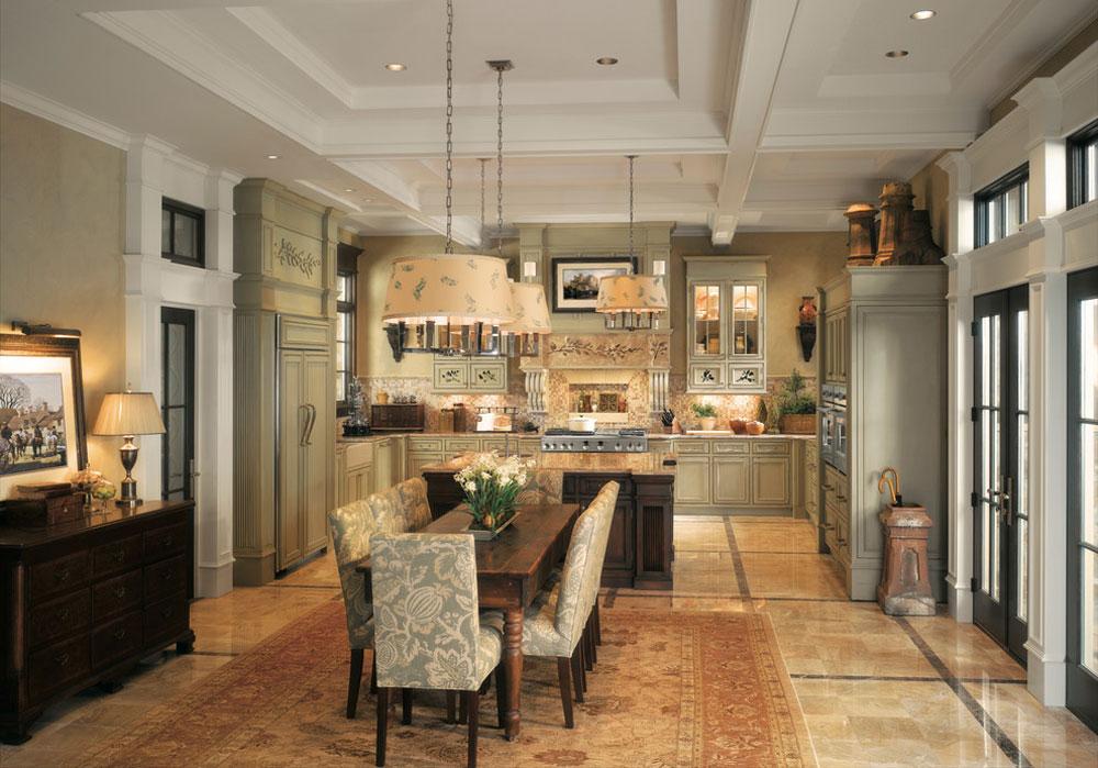 GE-Monogram-Kitchens-by-Monogram-Appliances Franska lantliga kök: dekor, skåp, idéer och gardiner