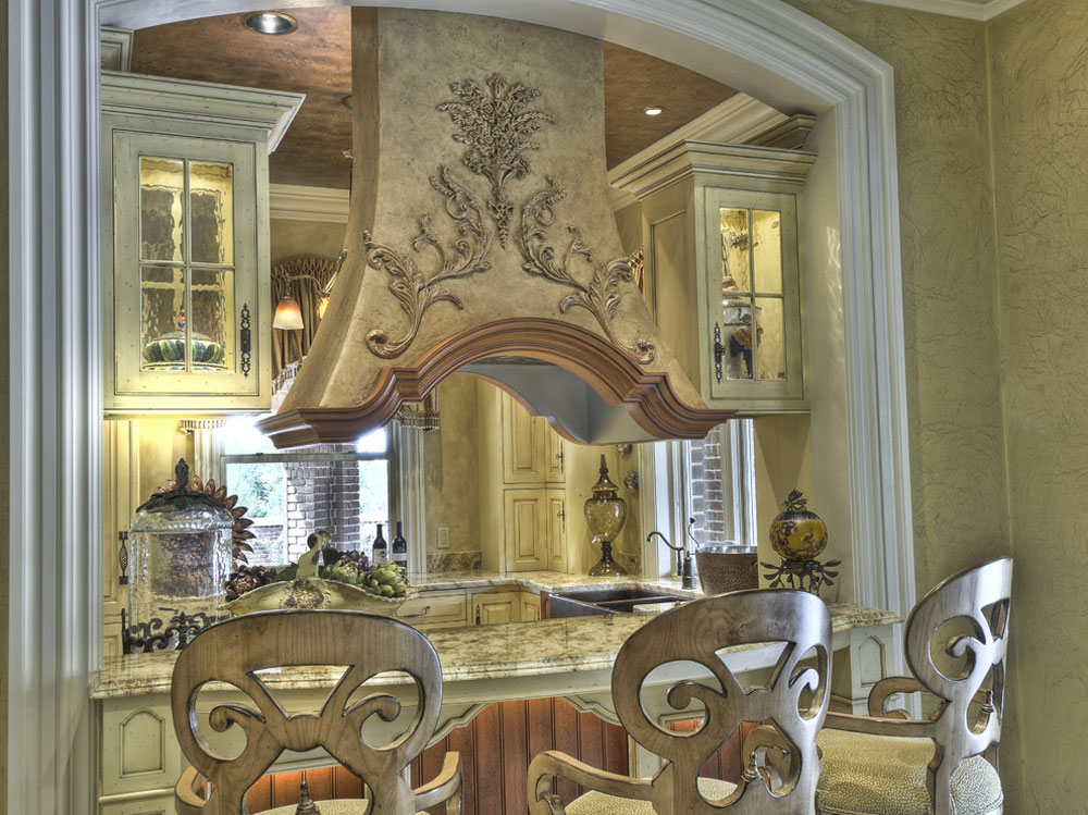 Unikt-Twist-on-French-Country-Kitchen-by-Colonial-Craft-Kitchens-Inc-2 French Country Kitchen: Decor, Cabinets, Ideas and Curtains