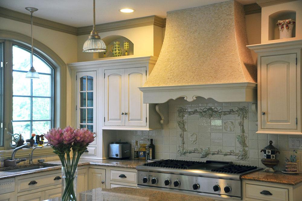 Fransk-kök-Fransk-lant-kök-ombyggnad-vitt-kök-av-Susan-Serra Fransk lantkök: dekor, skåp, idéer och gardiner