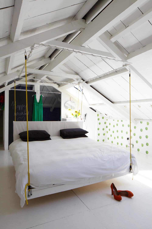 Kreativa hängande sängidéer för fantastiska hus 9 kreativa hängande sängidéer för fantastiska hus