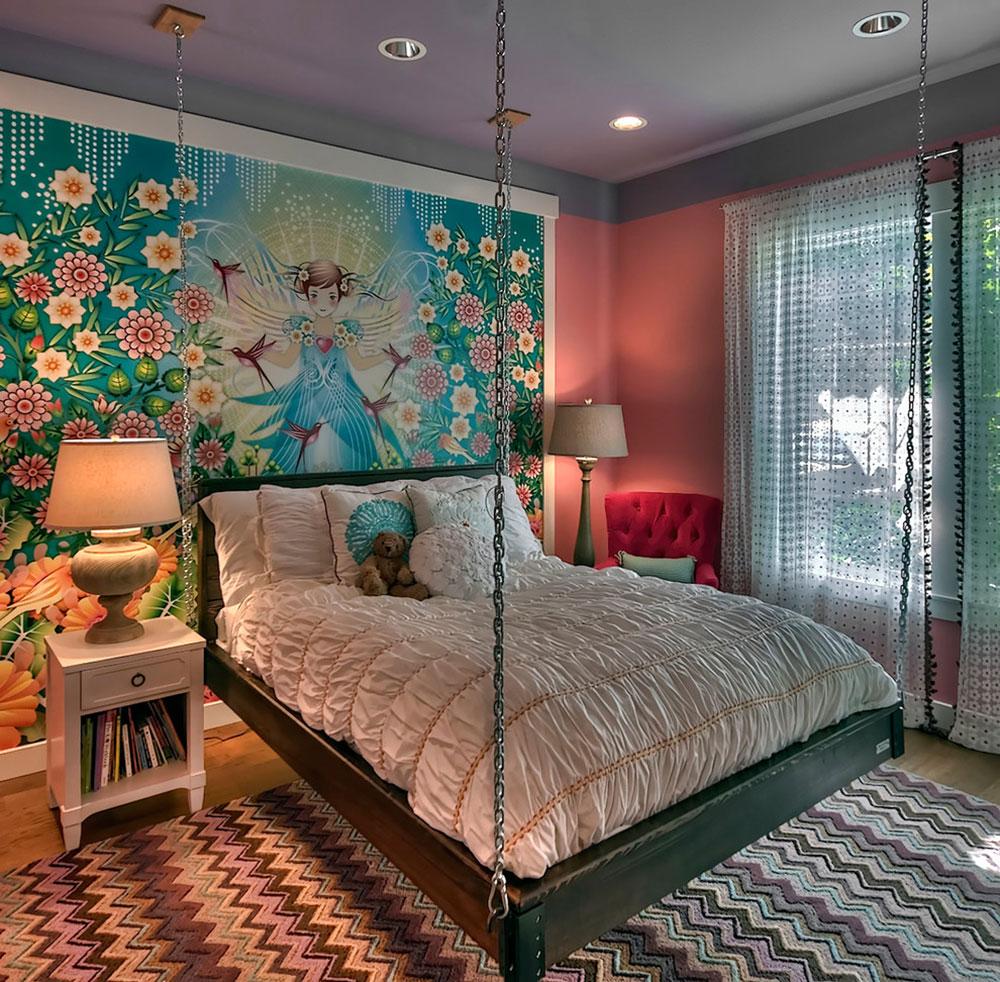 Kreativa hängande sängidéer för fantastiska hem 8 kreativa hängande sängidéer för fantastiska hem