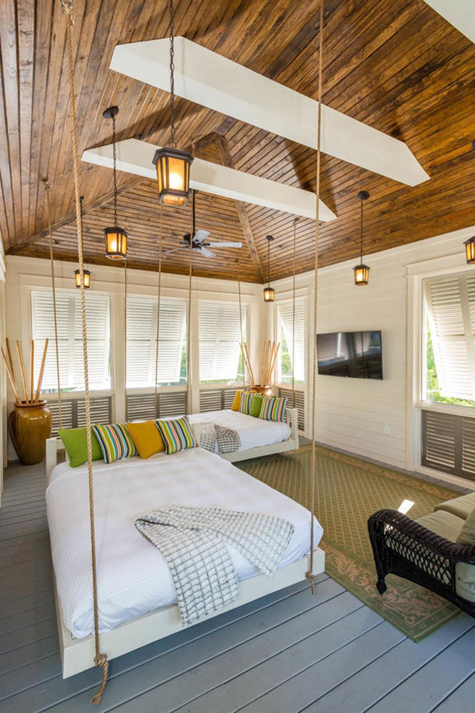Kreativa hängande sängidéer för fantastiska hus 6 kreativa hängande sängidéer för fantastiska hus
