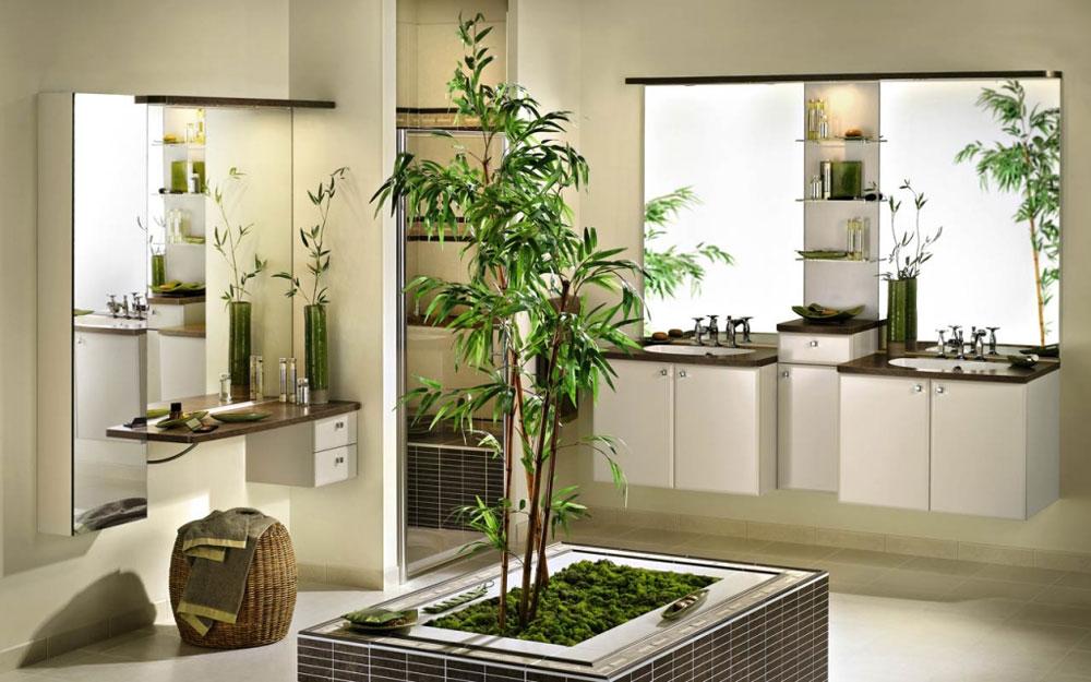Dekorera-ditt-badrum-med-vackra-växter-10 Dekorera ditt badrum med vackra växter